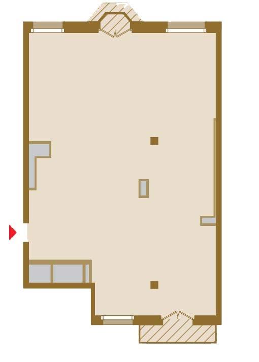 Планировка Трёхкомнатная квартира площадью 131.51 кв.м в ЖК «Art View House»