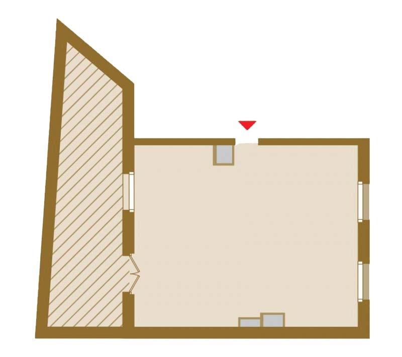 Планировка Однокомнатная квартира площадью 82.48 кв.м в ЖК «Art View House»