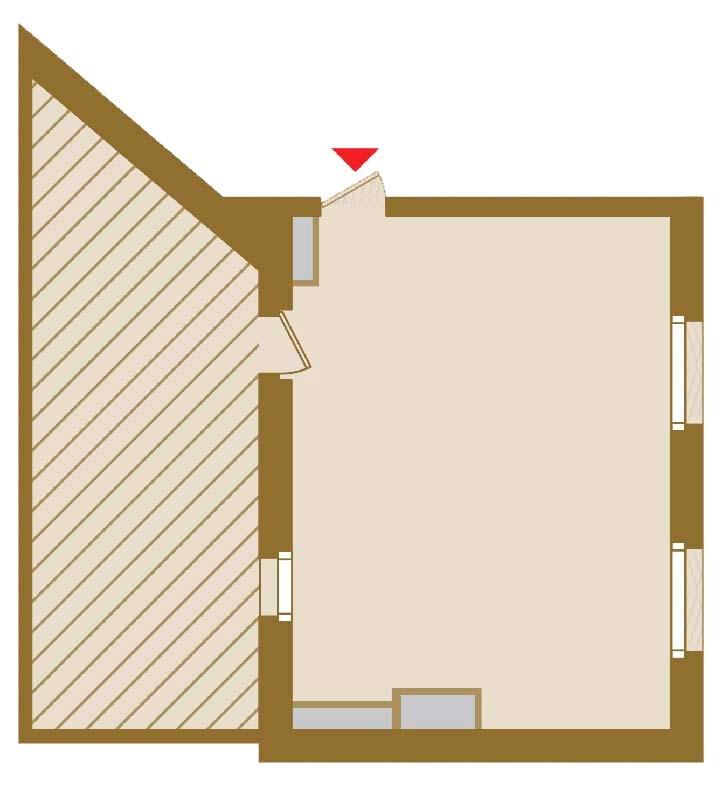 Планировка Студия площадью 51.85 кв.м в ЖК «Art View House»