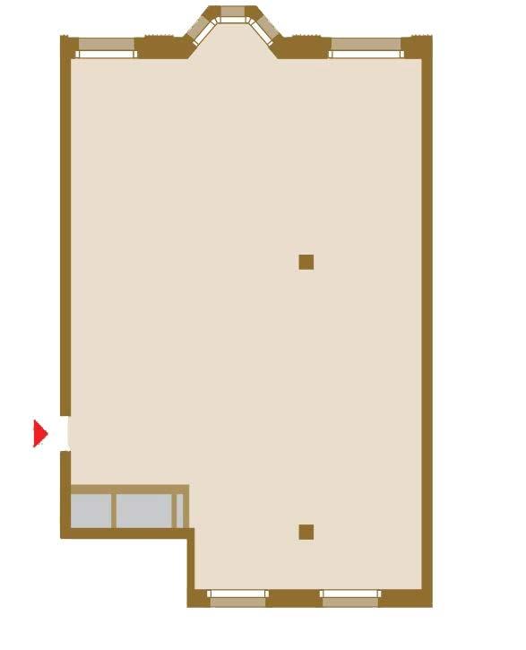 Планировка Трёхкомнатная квартира площадью 132.82 кв.м в ЖК «Art View House»