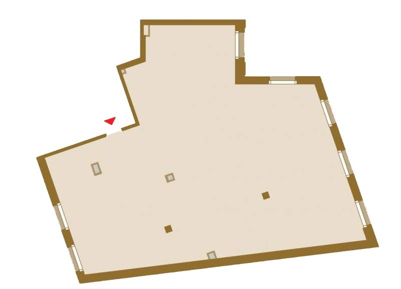 Планировка Трёхкомнатная квартира площадью 159.83 кв.м в ЖК «Art View House»