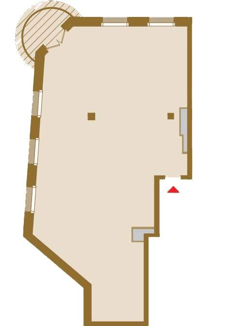 Планировка Двухкомнатная квартира площадью 136.48 кв.м в ЖК «Art View House»