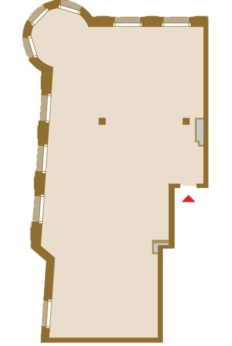 Планировка Трёхкомнатная квартира площадью 153.73 кв.м в ЖК «Art View House»