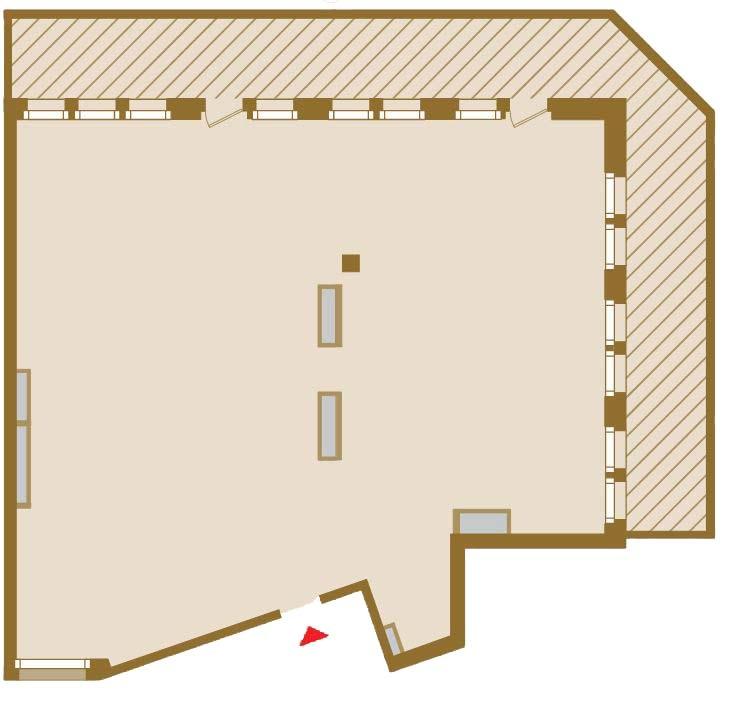 Планировка Двухкомнатная квартира площадью 164.73 кв.м в ЖК «Art View House»